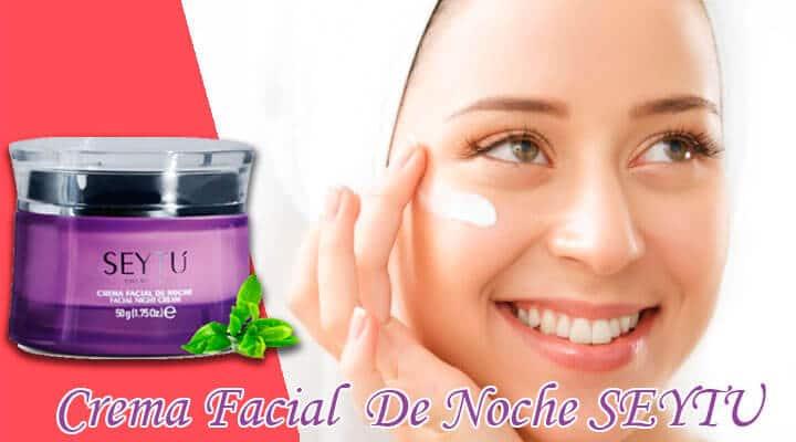 Crema Facial De Noche SEYTU