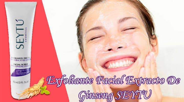 Exfoliante Facial Extracto De Ginseng Seytu